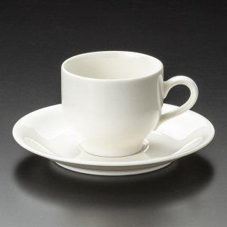 NBサニーホワイトコーヒー碗皿 洋食器 カップ&ソーサー コーヒー 業務用 喫茶店 珈琲屋 カフェ ケーキ屋 花柄 シンプル