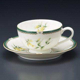 NBハーブ紅茶碗皿 洋食器 カップ&ソーサー 紅茶 業務用 洋風 高級感 おしゃれ 花柄 ケーキ屋 イタリアンレストラン