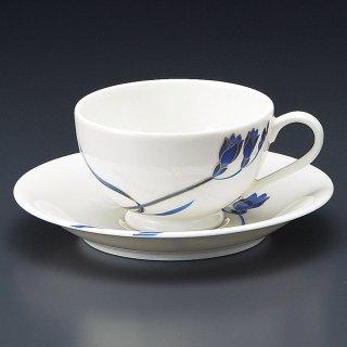 NBブルーラン紅茶碗皿 洋食器 カップ&ソーサー 紅茶 業務用 洋風 ティーカップ フレンチレストラン ケーキ屋 パン屋