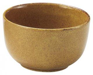 琥珀 こはく 飯器 和食器 飯器 業務用 カネスズ 約11.2cm 和食 和風 白米飯 炊き込みご飯