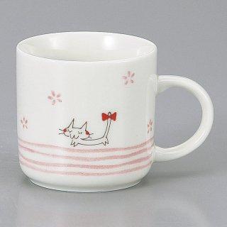 リボン猫PKマグ 洋食器 マグ 業務用