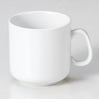 高強度磁器WHITEマグカップ 洋食器 マグ 業務用