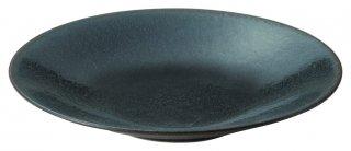 カリタ 24cm パスタ 藍潤 うるみ 洋食器 丸型プレート(M) 業務用 カネスズ 約24cm 丸皿 中皿 洋食 カレー皿