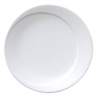 ムーン 17cm パン 白い器 洋食器 丸型プレート(S) 業務用 カネスズ 約17cm ケーキ屋 デザート