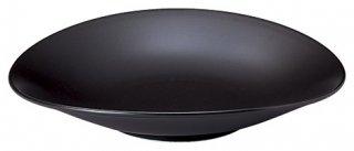 レガート 24cm プレート 黒マット 洋食器 楕円・変形プレート(M) 業務用 カネスズ 約L24cm モダン