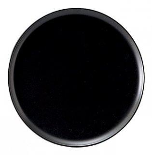 エクシブ26cmピザ皿 黒マット 洋食器 ピザ皿 業務用