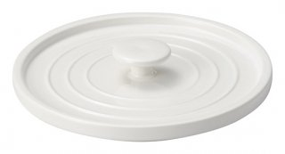 24cm 鍋 フタ 白 カネスズ 洋食器 耐熱食器 鍋 業務用 約17.6cm