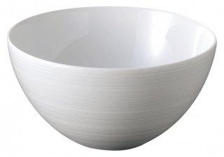 グラシア ビスク風19cm ボール 白い器 洋食器 丸型ボール(M) 業務用 カネスズ 約18.7cm