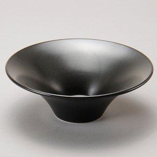 フリーシリーズ ボールセレクション 21cm 富士形ボール 黒マット 黒い器 洋食器 丸型ボール(L) 業務用 カネスズ 約21.3cm
