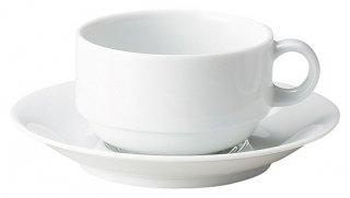 マキシムスタック片手スープカップ&受皿 洋食器 片手スープ 業務用