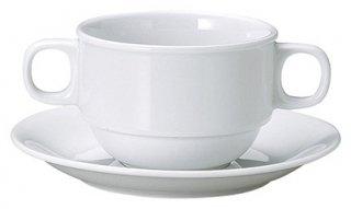 ニューコレクションスタックブイヨン碗 洋食器 両手スープ 業務用