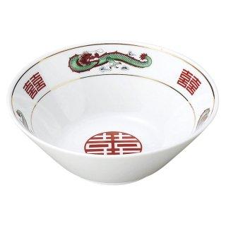 青三竜 切立63丼 中華食器 ラーメン丼 業務用 らーめん丼 らーめん鉢 どんぶり 麺鉢 めん鉢 日本製 磁器 約19.7cm