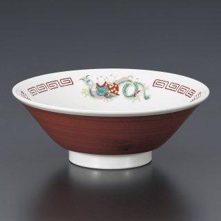 龍唐子切立6.8丼 中華食器 ラーメン丼 業務用 らーめん丼 らーめん鉢 どんぶり 麺鉢 めん鉢 日本製 磁器 約20.5cm