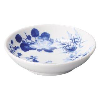 フローラル 3.2深皿 中華食器 小皿・タレ皿 業務用 日本製 磁器 約10cm たれ皿 餃子用 ギョーザ用 漬物用 キムチ用 ザーサイ用 シューマイ用 おしゃれ