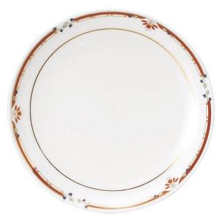 ニューボン紅華妃 7 1/2吋丸皿 中華食器 丸皿(S) 業務用 日本製 磁器 約19cm 中皿 菜皿 プレート 中華皿 単品メニュー 一品料理