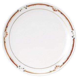 ニューボン紅華妃 10吋丸皿 中華食器 丸皿(M) 業務用 日本製 磁器 約26cm 単品メニュー用 大皿 中華皿 プレート 盛皿 エビチリ 酢豚 中国料理