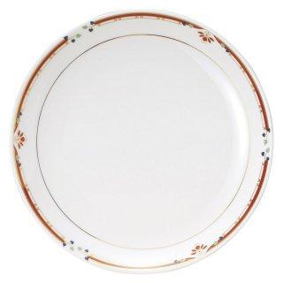 ニューボン紅華妃 12吋丸皿 中華食器 丸皿(L) 業務用 日本製 磁器 約31.5cm 丸大皿 大皿 プレート 特大 盛り合わせ 宴会皿 パーティー 食べ放題 バイキング ビュッフェ