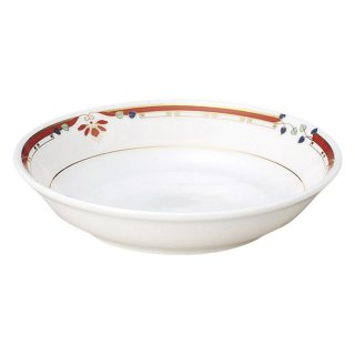 ニューボン紅華妃 5 1/2吋取皿 中華食器 取皿 業務用 日本製 磁器 約14cm 取り皿 小皿