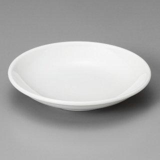 白玉4.0深皿 中華食器 取皿 業務用 日本製 磁器 約12.5cm 取り皿 小皿 白 シンプル プレーン 定番 スタンダード