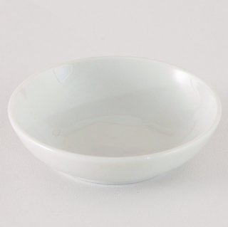 白深口2.8皿 中華食器 小皿・タレ皿 業務用 日本製 磁器 約8.5cm 小さ目 たれ皿 餃子用 ギョーザ用 漬物用 キムチ用 ザーサイ用 シューマイ用 白 シンプル プレーン 定番