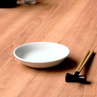 ニューアジアン 14cm 深皿 白 中華食器 取皿 業務用 日本製 磁器 取り皿 小皿 白 シンプル プレーン 定番 スタンダード