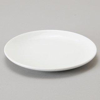 ニューアジアン 21cm皿 白 中華食器 丸皿(M) 業務用 日本製 磁器 約21cm 単品メニュー用 定食用皿 中華皿 プレート 盛皿 エビチリ 酢豚 中国料理 肉皿 焼肉店