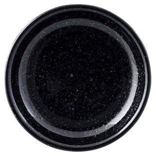 ニューアジアン 13cm皿 黒 中華食器 丸皿(S) 業務用 日本製 磁器 約12.7cm 取皿 取り皿 小皿 中華皿 焼肉店 定番 白い器
