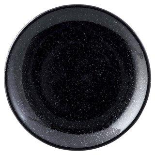 ニューアジアン 15cm皿 黒 中華食器 丸皿(S) 業務用 日本製 磁器 約14.9cm 中皿 菜皿 プレート 中華皿 単品メニュー 一品料理 肉皿 焼肉店 定番 白い器