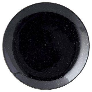 ニューアジアン 16cm皿 黒 中華食器 丸皿(S) 業務用 日本製 磁器 約16.5cm 中皿 菜皿 プレート 中華皿 単品メニュー 一品料理 肉皿 焼肉店 定番 白い器