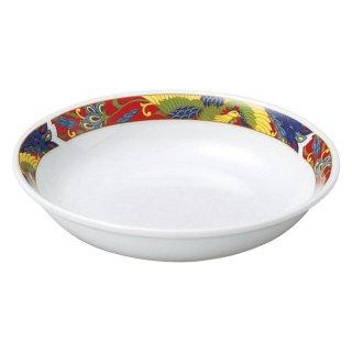 紅翔鳳 4.5深皿 中華食器 取皿 業務用 日本製 磁器 約14cm 取り皿 小皿 レトロ おしゃれ