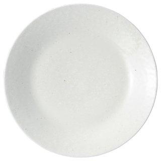 白粉引 8.5皿 中華食器 丸皿(M) 業務用 日本製 磁器 約26.3cm 単品メニュー用 大皿 中華皿 プレート 盛皿 エビチリ 酢豚 中国料理