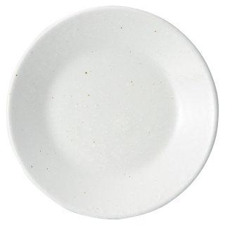 白粉引 4.8皿 中華食器 丸皿(S) 業務用 日本製 磁器 約15cm 中皿 菜皿 プレート 中華皿 単品メニュー 一品料理 肉皿 焼肉店 定番 スタンダード