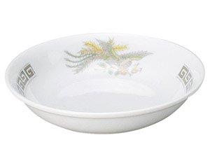 雷門鳳凰 5 1/2吋フルーツ皿 中華食器 取皿 業務用 日本製 磁器 約14cm 取り皿 小皿 レトロ 定番