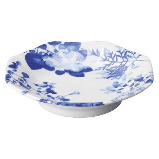 フローラル 高台八角皿 中華食器 八角皿 業務用 日本製 磁器 約19.3cm チャーハン シュウマイ シューマイ 中華皿 プレート おしゃれ モダン