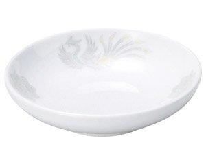 北京 4.0深皿 中華食器 取皿 業務用 日本製 磁器 約12.5cm 取り皿 小皿 鳳凰柄 定番 レトロ