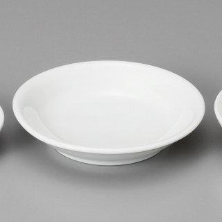 白中華3.0丸皿 中華食器 小皿・タレ皿 業務用 日本製 磁器 約10.2cm たれ皿 餃子用 ギョーザ用 漬物用 キムチ用 ザーサイ用 シューマイ用 白 シンプル 定番 スタンダード
