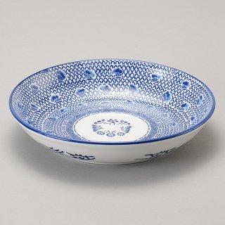 タイスキ 24cmパスタボール 中華食器 ボール(L) 業務用 日本製 磁器 約24cm 麺皿 めん皿 つけ麺 めん鉢 アジアン料理