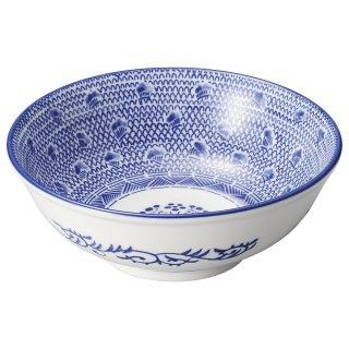 タイスキ 6.5玉丼 中華食器 ボール(L) 業務用 日本製 磁器 約20cm ラーメン丼 ラーメン鉢 どんぶり 麺鉢 めん鉢 ビビンバ ボウル