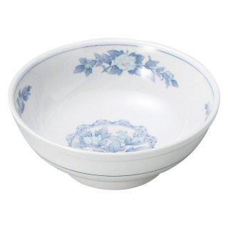 三色牡丹 7.0玉丼 中華食器 ボール(L) 業務用 日本製 磁器 約22cm ラーメン丼 ラーメン鉢 どんぶり 麺鉢 めん鉢 ビビンバ ボウル