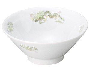 緑鳳龍 ライス丼 中華食器 ライス丼 業務用 日本製 磁器 約15cm 中華料理 ごはん茶碗 ご飯茶碗 ライス碗 らーめん定食 セット用 人気 おすすめ