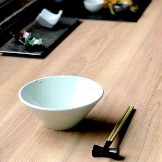 白粉引 5.3ボール 中華食器 ボール(M) 業務用 日本製 磁器 約16.5cm 小丼 ミニラーメン セットメニュー ボウル アジアン料理 焼肉店