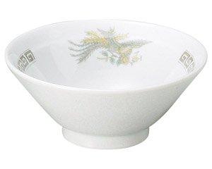 雷門鳳凰 4.8ライス丼 中華食器 ライス丼 業務用 日本製 磁器 約15cm 中華料理 ごはん茶碗 ご飯茶碗 ライス碗 らーめん定食 セット用 人気 おすすめ