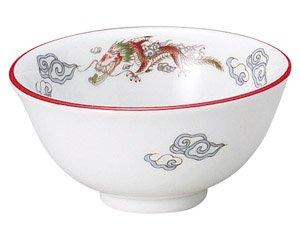 朱渕萬漢龍 3.6スープ碗 中華食器 スープ碗・スープボール 業務用 日本製 磁器 約11.5cm スープ用 セットメニュー用 清湯 フカヒレスープ たまごスープ わかめスープ 取り分け用 中国料理