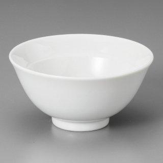 白リム付4.0ライス 中華食器 ライス丼 業務用 日本製 磁器 約13cm 中華料理 ごはん茶碗 ご飯茶碗 ライス碗 らーめん定食 セット用 焼肉店 人気 おすすめ