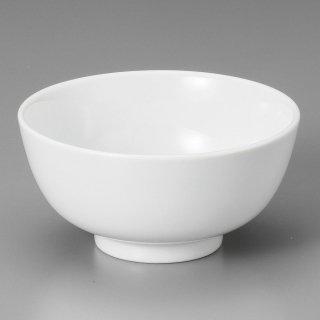 白4.0南京碗 中華食器 ライス丼 業務用 日本製 磁器 約12.5cm 中華料理 ごはん茶碗 ご飯茶碗 ライス碗 らーめん定食 セット用 焼肉店 人気 おすすめ