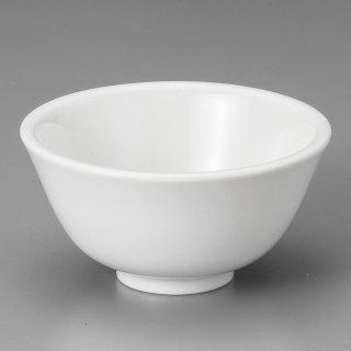 白厚口4.0汁碗 中華食器 ライス丼 業務用 日本製 磁器 約12.5cm 中華料理 ごはん茶碗 ご飯茶碗 ライス碗 らーめん定食 セット用 人気 おすすめ