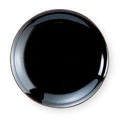 うるし天目 3.0皿 中華食器 小皿・タレ皿 業務用 日本製 磁器 約9.8cm たれ皿 餃子用 ギョーザ用 漬物用 キムチ用 ザーサイ用 シューマイ用 カネスズ 黒系 シンプル プレーン 定番