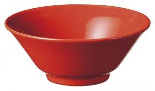 赤釉4.8ライス 中華食器 ライス丼 業務用 日本製 磁器 約14.8cm 中華料理 ごはん茶碗 ご飯茶碗 ライス碗 焼肉店