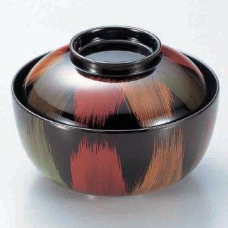 4寸きさらぎ椀 新歌舞伎 漆器 煮物椀・雑煮椀 業務用