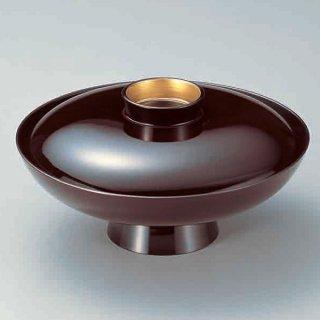 8寸小槌型丼 溜つば金 漆器 煮物椀・雑煮椀 業務用
